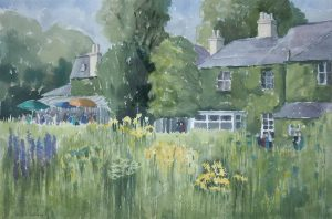 'The Garden Party, Reveley Lodge, Bushey' by Anthony Wildig.
