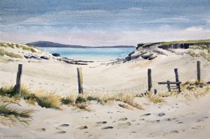 The Outer Hebrides painting