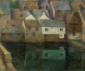 A Cornish Village by Myrtle Broome