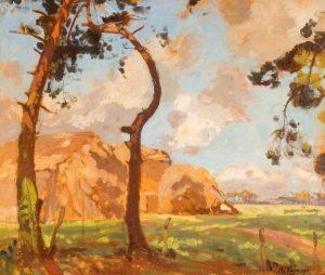 Hampshire Countryside b y Algernon Talmage