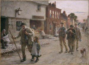 High Street, Bushey, Hertfordshire by William Henry Burney Bennett