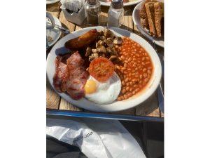 Bushey Breakfast by Alan Caw