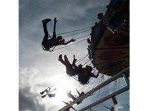 Fairground Excitement by Nick Edgeworth