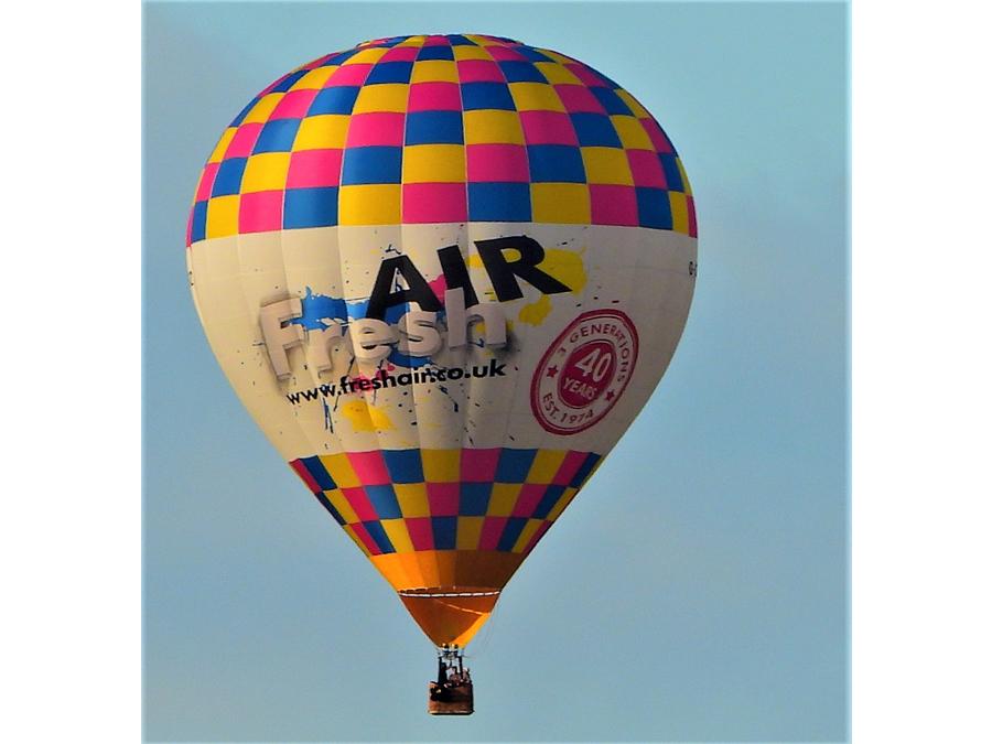 Hot Air Balloon Bedmond by Stephen Danzig