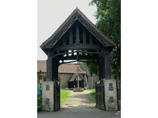 Lych Gate by Andrew Hextall