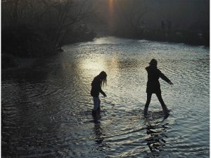 Paddling in the Gade by Shirley Keates