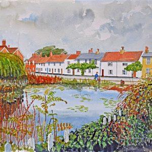 Gordon Metcalfe painting prize draw