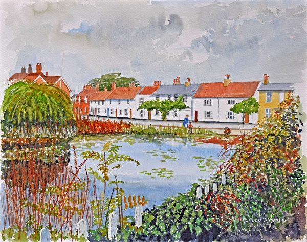 St James Pond by Gordon Metcalke