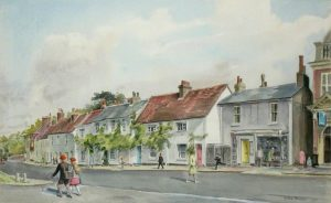 Going to School in Bushey by Mollie Hesketh Broome